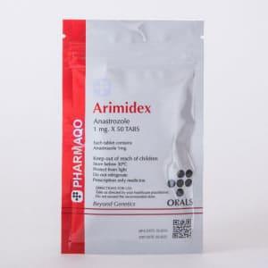 Pharmaqo Labs Arimidex 50 tabs x 1mg
